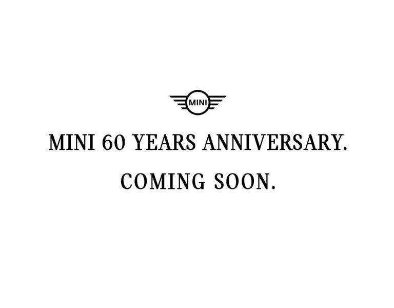 MINI 60 years anniversary