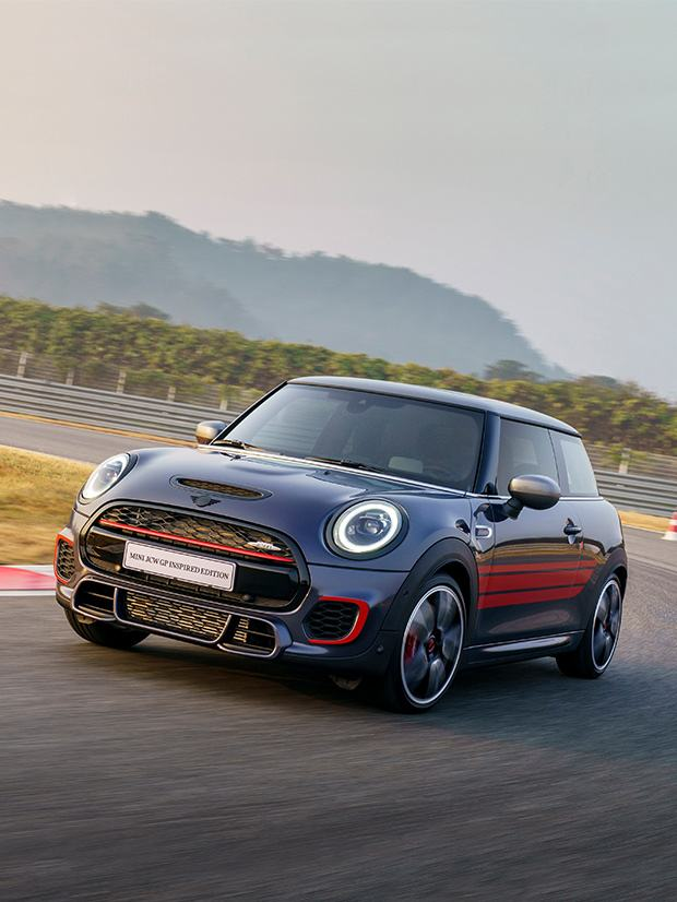 MINI JCW GP INSPIRED EDITION.